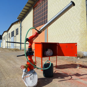 ساخت و اجرای سیستمهای اطفاء حریق